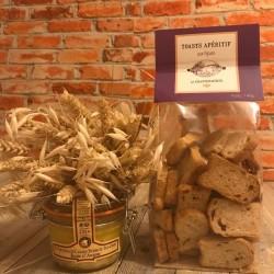 Toasts Apéritif aux figues